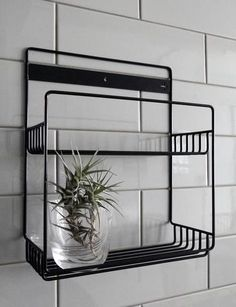 A simple wire shelf for the shower, bathroom or kitchen Materials: All Stainless Steel – no rust. (Powder-coated to colour) Dimensions (mm): x x guest shower Furniture, Shower Rack, Shelves, Simple Storage, Organizing Wires, Wire Shelving, Storage, Furniture Design, Bathroom Inspiration