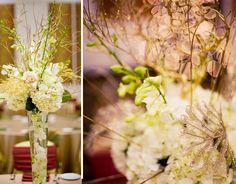 best wedding ideas: Dreamy White Flower Wedding Centerpices Theme