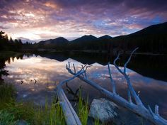 Picture of Sprague Lake in Rocky Mountain National Park