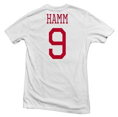 #9, Mia Hamm is one of the greatest players to play the game of soccer on the women's side. She held the title of most goals of any gender in international play. She was very influential for all the y