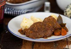 ír étel, ami neked is csúszni fog! Portobello, Guinness, Steak, Beef, Dishes, Food, Tips, Meat, Plate
