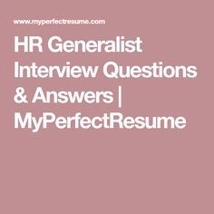 Once you have submitted your strong resume along with your excellent cover letter to the… Hr Resume, Resume Tips, Question And Answer, This Or That Questions, Interview Questions And Answers, Employee Engagement, Job Interviews, Flow, Business