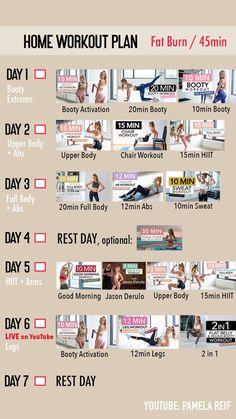 Full Ab Workout, 15 Min Workout, Band Workout, Sweat Workout, Intense Workout, Waist Workout, Workout Fitness, Workout Gear, Weekly Workout Plans