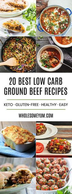 21 awesome raw food recipes for beginners to try raw pinterest the 20 best low carb and keto ground beef recipes pinterestgroundbeef forumfinder Image collections