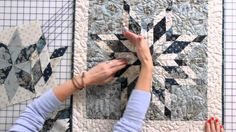 How to Sew an Intermediate Eight-Point Star Quilt Block by Edyta Sitar -...