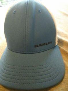 aa188c6de5b Oakley Mens a flex l xl hat blue front white back mint condition  fashion