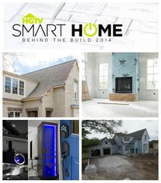 "Next up is the kitchen tour!  But first, check out these ""smart bytes"" behind the build and design of HGTV Smart Home 2014…from our friends @HGTVRemodels.com.com.com and digital lifestyle expert, @Carley Powell Knobloch"