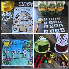 Spring Centers for Preschool April - Kindergarten Rocks Resources