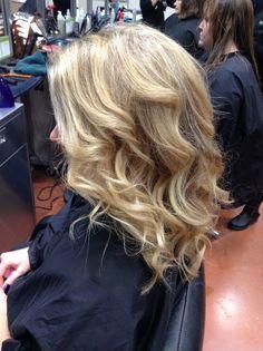 Highlights Aveda hair color