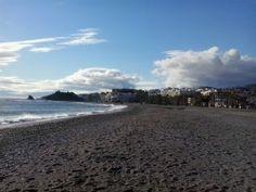 """Noelia (Granada): """"El atardecer de otoño a la orilla del mar, respirando el aire salado que despeja cuerpo y mente"""""""
