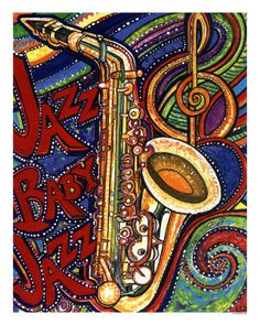 musical background and sax