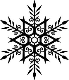 snowflake - maybe I could cross stitch this