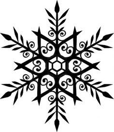 snowflake designs tattoo - Google Search