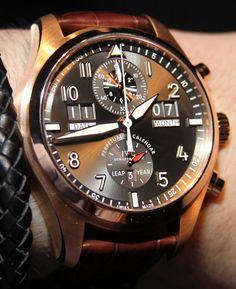 @Independent World Spitfire Pilot Perpetual Calendar Digital Date Month #Watch