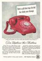 AT & T - Bell Telephone Company 1957 Ad Picture