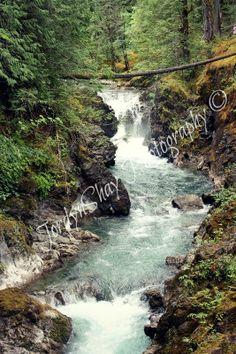 Little Qualicum Falls, Waterfall, Nature, Rocks, Qualicum, BC, British Columbia, Canada