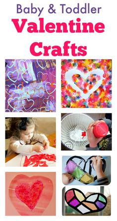 Easy valentine crafts for toddlers and baby