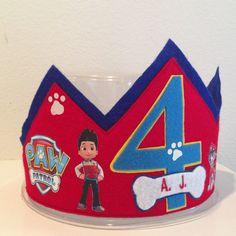 Paw Patrol Birthday Crown by Bobotz on Etsy