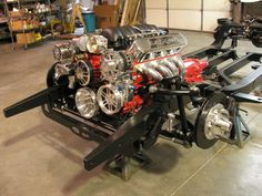 Check out the 55-57 Custom Belair Chassis. It is going to have lots of add-ons include Wilwood Brakes and a LSx 427 Engine. We Install What We Sell. Call 678-482-0866 for Details or visit us at www.spsengines.com