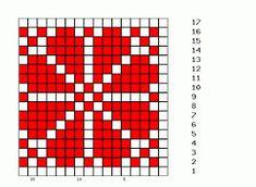 Fair Isle Knitting Patterns, Fair Isle Pattern, Knitting Charts, Knitting Socks, Beading Patterns, Crochet Patterns, Fair Isle Chart, Square Patterns, Barn Quilts