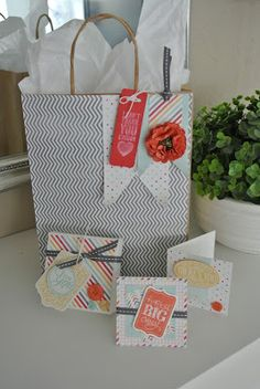 Cardkit juli/augustus Cards and Scrapping: Chalk Talk, I Am me Stampin' Up