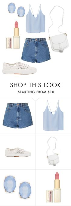 """Senza titolo #50"" by chiara-zanchetta ❤ liked on Polyvore featuring Glamorous, MANGO, Superga, Cara and L'Oréal Paris"