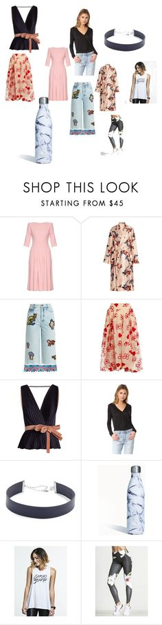 """Fashion outfit"" by jamuna-kaalla ❤ liked on Polyvore featuring Goat, Katie Eary, Peter Pilotto, Simone Rocha, Roksanda, The Hours, Jennifer Zeuner, S'well and vintage"