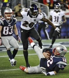 Tom Brady fined for this kick to Ed Reed in AFC Championship