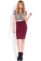 Timeless Midi Skirt Forever 21