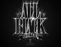 Title Series by Andres Alvarez, via Behance