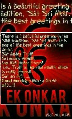 Ek Onkar- One GOD