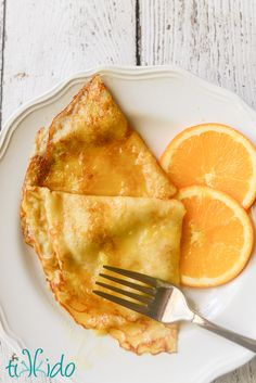 Classic crepes Suzette recipe. The decadent, buttery orange sauce is amazing, and who doesn't love a dessert (or breakfast, or brunch) that you flambe?
