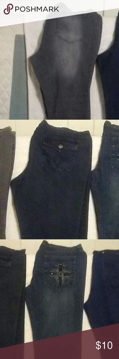 Clothes, shoes, purses,kids toys, atc... Womans pants and blouses and purses. Jeans Straight Leg