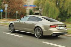 Audi A7 Sportback - Zachwyca stylem i mocą