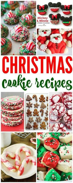 Christmas Cookie Recipes! Perfect for Christmas Cookie Exchanges and Holiday Parties!