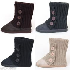 These boots look so comfy!