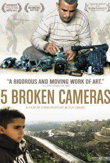 5 Broken Cameras / HU DVD 10914 / http://catalog.wrlc.org/cgi-bin/Pwebrecon.cgi?BBID=12485423