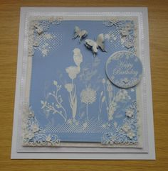 Wedgewood Inspired Card.
