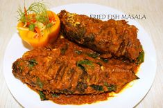Kerala cuisine is well known for spicy and flavorful seafood delicacies / Fish recipes.  A spicy flavorful fish curry or gravy served with hot rice is a must for lunch among some keralites. Here am sharing a fish masala with Varal / bral fish where fish is marinated, grilled in pan using less olive oil
