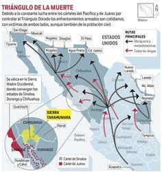 Pelean cárteles la Tarahumara; más violencia que en Ciudad Juárez