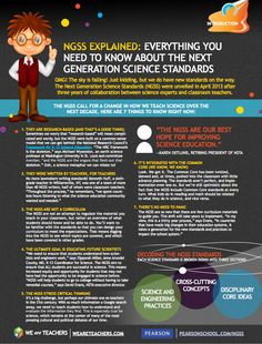 Next generation science standards info sheet.