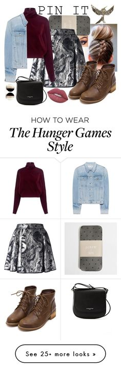 """Pin It #3"" by panenguin on Polyvore featuring J.Crew, Philipp Plein, McQ by Alexander McQueen, rag & bone, Lime Crime and Lancaster"