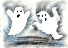 Geisterstunden - Gespenster aus Pastellkreiden