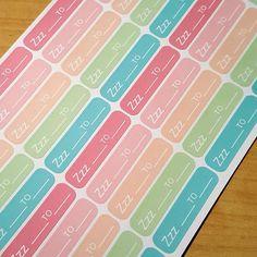 New sleep tracker stickers now available in my shop   #wendyprints #planner #plannerstickers #plannercommunity #planneraddict #etsy #stickers #diaries #erincondren #filofax #cutestickers #mambi #kikkik #plannerlove #plannergoodies #planner #plannergoodies #plannerdecoration #sleep #sleeptracker by wendyprints