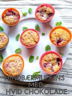Frisk og delikat low fodmap muffin der spises med ske direkte fra formen. Med friskheden fra laktosefri cremefraiche og hindbær og sødmen fra hvid chokolade