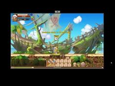 Rainbow Saga - Gameplay 2 - Rainbow Saga is a Free-to-play sidescrolling Action MMO Role-Playing Game [MMORPG] with an exciting world to explore
