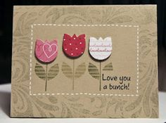 Cards-Love you a bunch