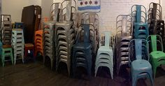 Iron Chair, Rustic $98