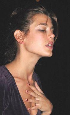 Charlotte Casiraghi - Natural beauty