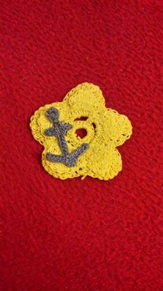 Blume mit anker